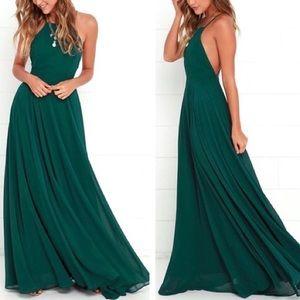 Lulu's Mythical Kind of Love Maxi Dress - Small